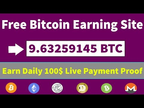 Free Bitcoin Mining Site 2019 | Earn Daily 0.004 BTC Live Payment Proof