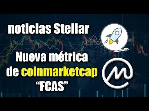 nueva métrica Coinmarketcap, que pasa con los ETF?, noticias Stellar lumens