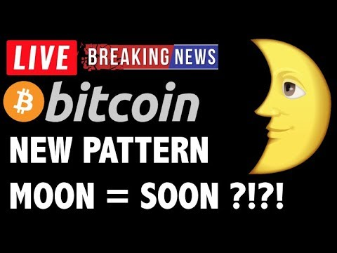 Bitcoin NEW PATTERN = POTENTIAL MOON?! – LIVE Crypto Trading Analysis & BTC Cryptocurrency News 2019