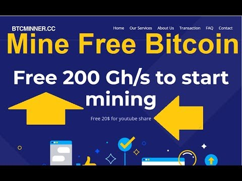NEW FREE BITCOIN CLOUD MINING SITE 2019 | 200GH/S Free Bouns
