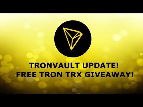 TRONVAULT 5CRAZY DIVS! TRON TRX GIVEAWAY!