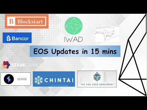 15 mins with IWAD: Market review and EOS ecosystem updates