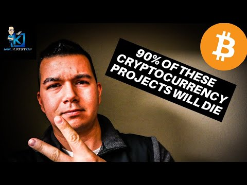 This is WHY BITCOIN IS THE SAFEST CRYPTOCURRENCY! 90% of crypto projects fail!