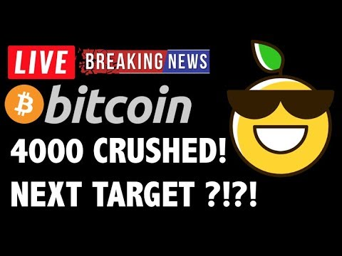 Bitcoin PRICE OVER 4000! NEXT TARGET?! – LIVE Crypto Trading Analysis & BTC Cryptocurrency News 2019