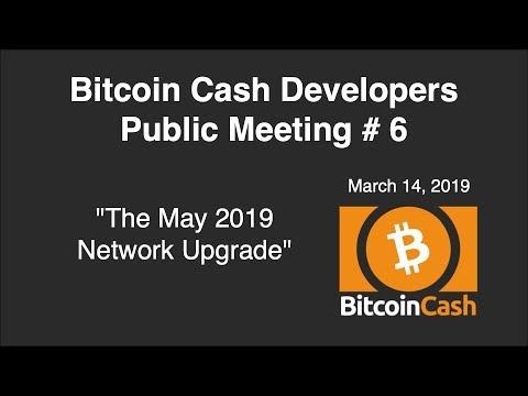 Bitcoin Cash Development video meeting #6 – March 14, 2019