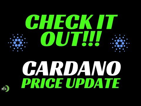CARDANO (ADA) PRICE UPDATE – CHECK IT OUT!!!