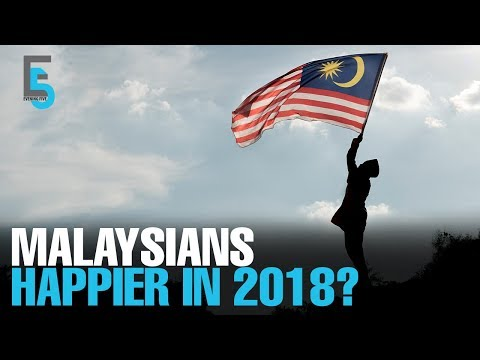 EVENING 5: M'sia tumbles in world happiness ranking