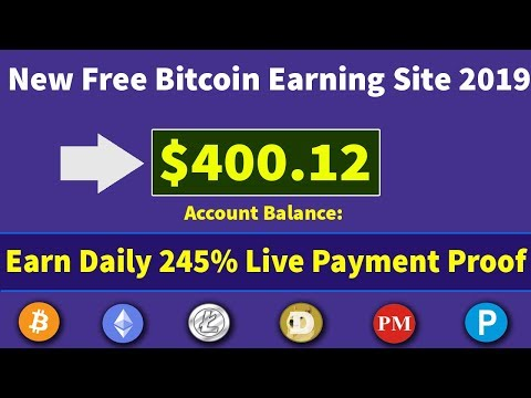 New Free Bitcoin Mining Site 2019 | Earn Daily 100$ Live Withdrawal Payment Proof 2019