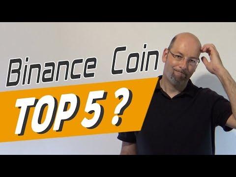 Binance Coin – Bald ein Top 5 Coin?