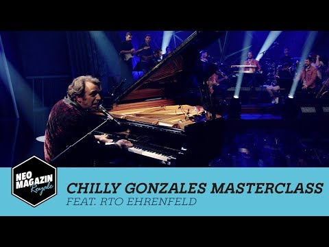 Chilly Gonzales Masterclass feat. RTO Ehrenfeld | NEO MAGAZIN ROYALE mit Jan Böhmermann – ZDFneo
