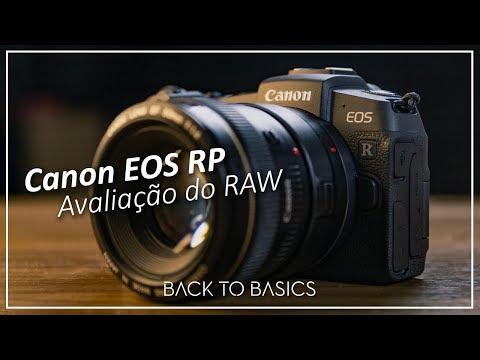 Avaliando o RAW CR3 da EOS RP! Melhor que o CR2?