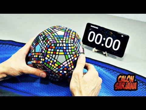 Apakah Ada Orang di Dunia yang Bisa Menyelesaikan Rubik Super Duper Susah Ini?!?!