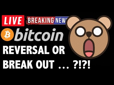 Bitcoin REVERSAL OR BREAK OUT COMING?! – LIVE Crypto Trading Analysis & BTC Cryptocurrency News 2019