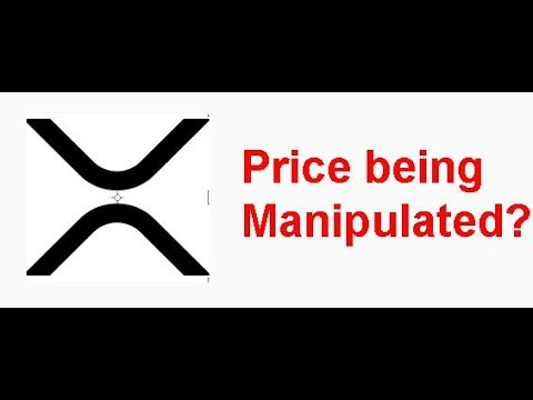 XRP price being manipulated? Long term commodities trader weighs in.