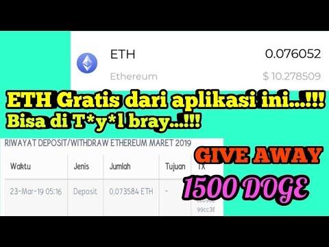 LEGIT WITHDRAW MENDARAT 0.07 ETH KE INDODAX || GIVE AWAY 1500 DOGE