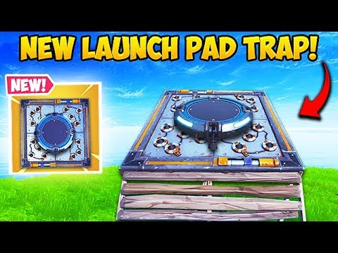 *NEW* SUPER OP LAUNCH PAD TRAP! – Fortnite Funny Fails and WTF Moments! #506