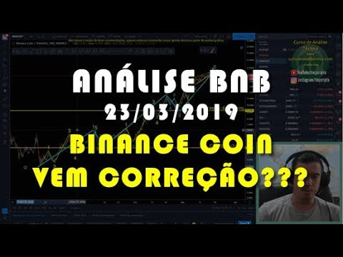 Análise Binance Coin – BNB – 23/03/2019 – Vem Correção???? Atenção!!!