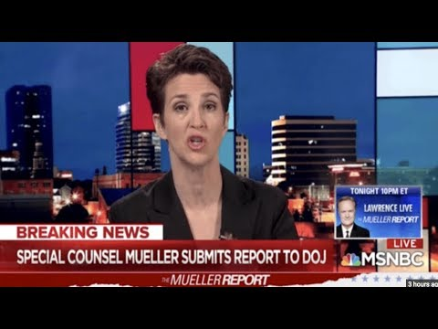 Rachel Maddow On Verge Of Tears After Meuller Report