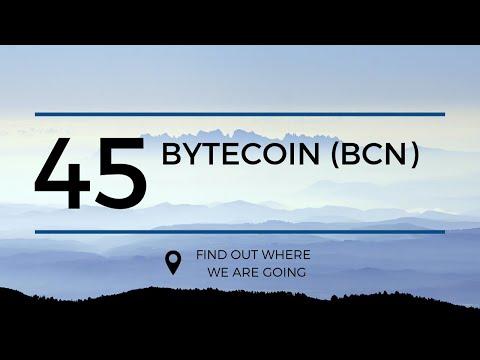 $0.0007 Bytecoin BCN Price Prediction (22 Mar 2019)