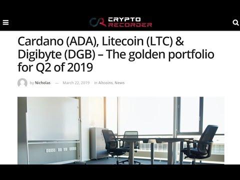 カルダノ(ADA)、ライトコイン(LTC)、デジバイト(DGB)とともに2019年第2四半期のゴールデンポートフォリオを形成!?