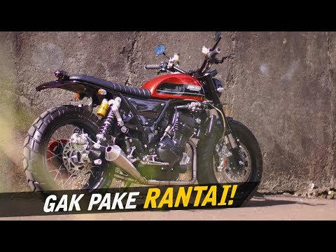 Custom Kawasaki Ninja 250 Neo-Tracker #AtenxKatros