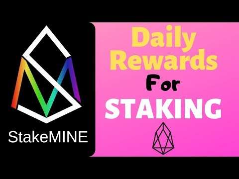 Get Daily Rewards For Staking EOS