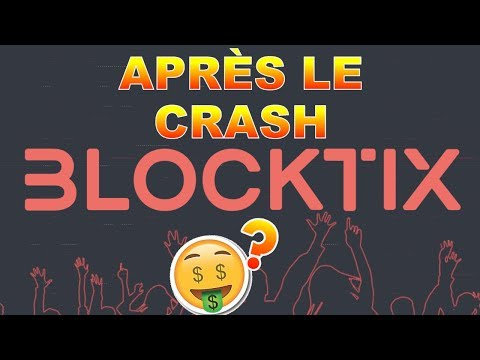 BLOCKTIX APRÈS LE CRASH !? TIX analyse technique crypto monnaie bitcoin