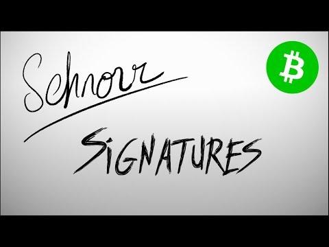 Bitcoin Cash Upgrade: Schnorr Signatures