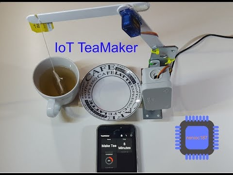 The IoT TeaMaker
