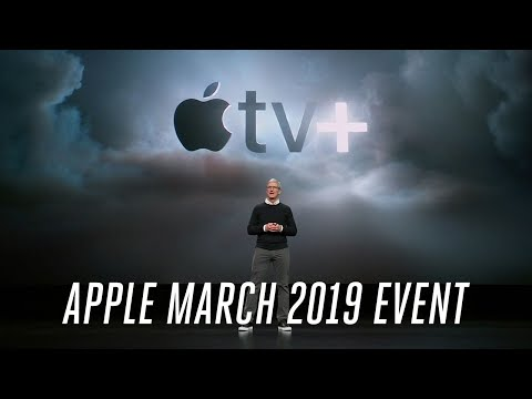 Apple TV Plus March 2019 event in 7 minutes