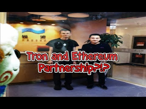 Tron (TRX) and Ethereum (ETH) Partnership?!? Moonshot Approaching!