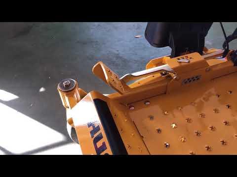 Hustler Dash zero turn lawnmower review.
