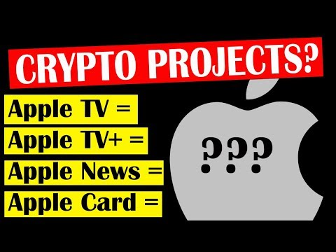 CRYPTO Projects Disrupting New Services from Apple | LIVE Bitcoin and Cryptocurrency News