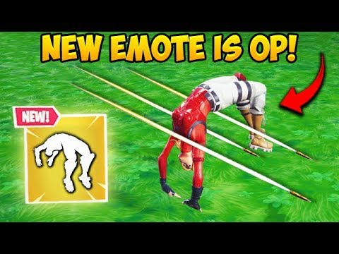 *NEW* SPRING LOADED EMOTE IS INSANE! – Fortnite Funny Fails and WTF Moments! #508