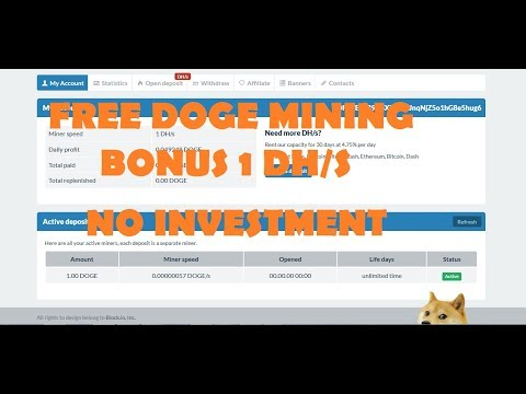 DOGEMINER-FREE DOGE  EARNING |BONUS 1 DH/S POWER |tamil kathambam