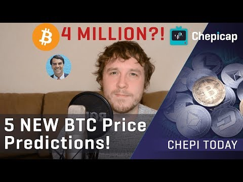 $4 MILLION per BTC?! 5 NEW Bitcoin Price Predictions| Cryptocurrency News | Chepicap