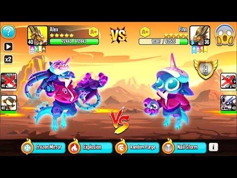 Dragon City: Neo Hanzo Dragon | League Battle 400 [MAX LEVEL] ?