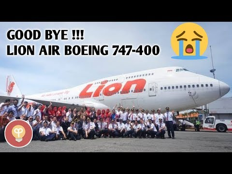 GOOD BYE LION AIR BOEING 747-400, WELCOME AIRBUS A330-900 NEO