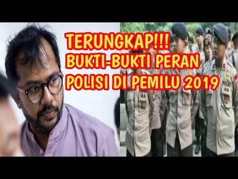 ADA YANG JANGGAL!!! ~ TERUNGKAP BUKTI – BUKTI PERAN KEPOLISIAN DI PILPRES 2019