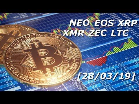 Обзор криптовалюты XRP/EOS/LTC/NEO/XMR/ZEC – [28/03/2019]