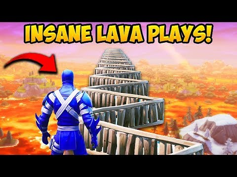 *NEW* FLOOR IS LAVA LTM INSANE PLAYS! – Fortnite Funny Fails and WTF Moments! #511