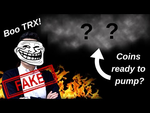 Tron Fake Giveaway?? The Crypto Media Sucks & 2 Alt Coins Ready To Pump