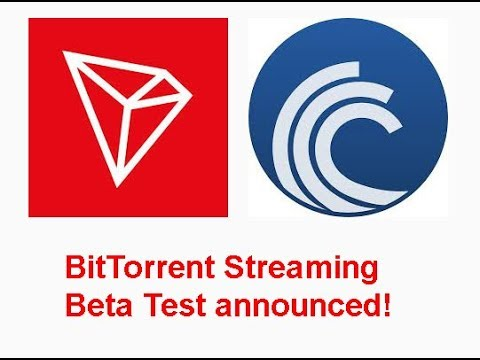 TRON(TRX) announces BitTorrent(BTT) live BETA tests! Is price going to the jump soon?
