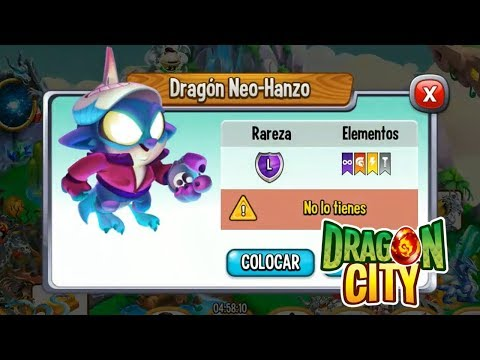 MI NUEVO DRAGON NEO HANZO – Dragon City