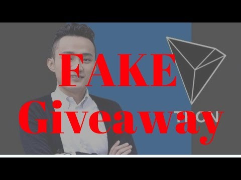 Justin Sun's Fake Car Giveaway – Tron