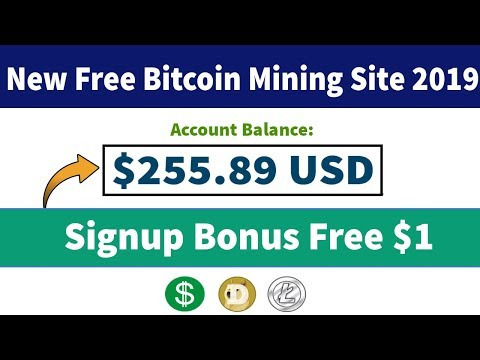 New Free USD & Dogecoin Cloud Mining Site 2019 | Signup Bonus $1 Live 2019 in Urdu Hindi