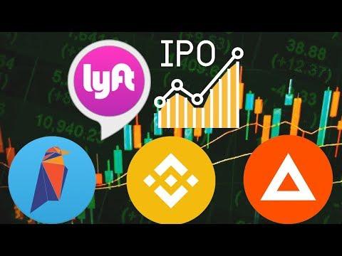 Massive altcoin CRYPTO profits! Lyft IPO on NASDAQ. Altcoin season 2019