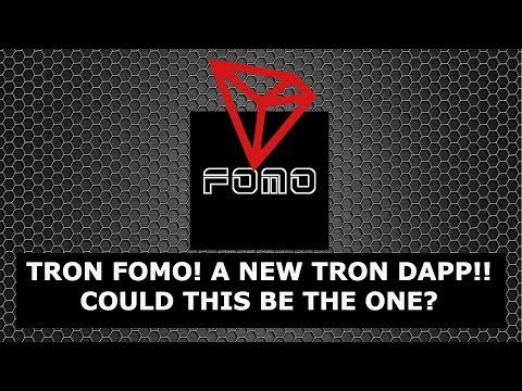TRONFOMO! A NEW TRON DAPP! COULD THIS BE THE SUSTAINABLE ONE?!!? TRONFOMO NETWORK