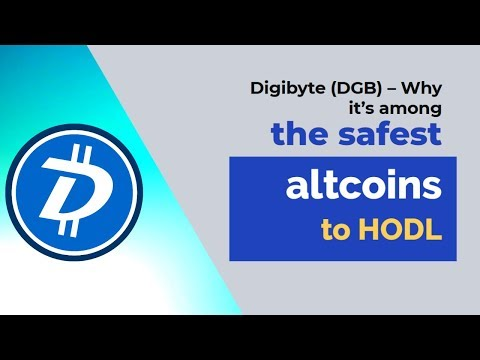 Digibyte (DGB) – Why it's among the safest altcoins to HODL