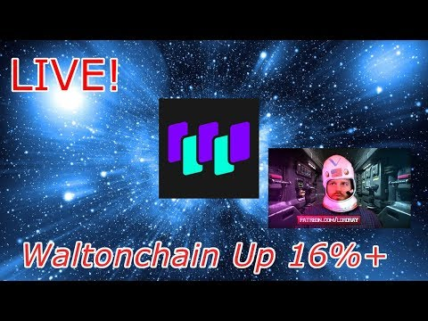 Cryptocurrency Live : Walton Coin (WTC) is Up Big, Why? Episode 418 – Crypto Technical Analysis